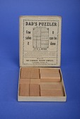 view Dad's Puzzler, Once Owned by Olive C. Hazlett digital asset: Puzzle, Dad's Puzzler - Open Box