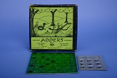 view Adders Puzzle Once Owned by Olive C. Hazlett digital asset: Puzzle with Box, Adders - Pieces out of Box
