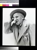 view Jimmy Durante digital asset: Photo of Jimmy Durante by Richard Avedon