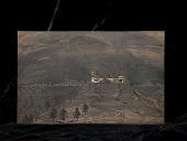 view Engraved woodblock of hilltop pueblos digital asset: Engraved woodblock of hilltop pueblos