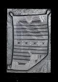 "view Engraved woodblock of a ""Navajo blanket"" digital asset: Engraved woodblock of a Navajo blanket"