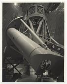 view Hale Telescope - Palomar digital asset: 'Hale Telescope - Palomar', gelatin silver print by Will Connell