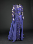 view Hillary Clinton's 1993 Inaugural Ball Gown digital asset number 1
