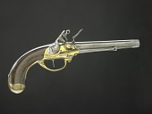 view Norty & Cheney Model 1799 Flintlock Pistol, Second Model digital asset: Model 1799 Pistol, Second Model, obverse.