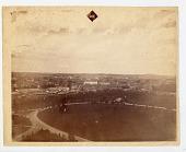 view Bird's-Eye View of Washington, D.C. digital asset: Photograph, Panorama of Washington, DC, NE view, by Titian Ramsay Peale
