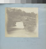 view Great Falls of the Potomac digital asset: Image by Titian Ramsay Peale of the Great Falls of the Potomac.