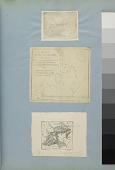 view Map of Richmond's Island digital asset: Images by Titian Ramsay Peale of maps of Richmond's Island and a sketch of Turtugas Islands, Florida.