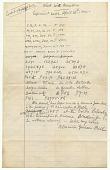 view Transcript of Sound Recording, pencil on paper digital asset number 1