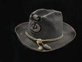 view Campaign hat worn by William T. Sherman digital asset: Campaign hat worn by William T. Sherman
