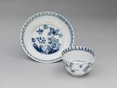 view Meissen underglaze blue tea bowl and saucer digital asset number 1
