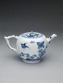 view Meissen underglaze blue teapot and cover digital asset number 1