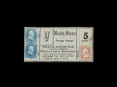 view 5 Cent, Postage Stamp Envelope, United States, 1862 digital asset number 1