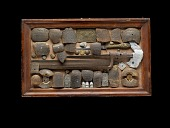 view Box of relics from Gettysburg digital asset number 1