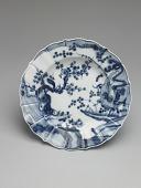 view Meissen underglaze blue plate digital asset number 1