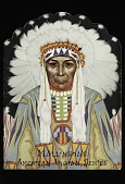 """view """"Blue Book"""" Mallinson's American Indian Series digital asset number 1"""