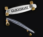 view Powell Quicksilver skateboard designed by George Powell and used by Stacy Peralta digital asset number 1