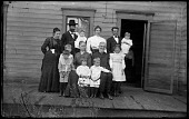 view Hussey Family digital asset: Positive image from a glass plate negative by Walter J. Hussey, Hussey Family