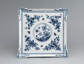 view Meissen underglaze blue tray digital asset number 1