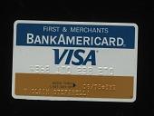 view First & Merchants BankAmericard Visa digital asset number 1