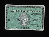 view American Express Credit Card, United States, 1970 digital asset number 1