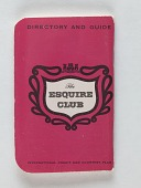 view Esquire Club Credit Card, United States, 1957 digital asset number 1