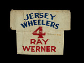 view Wheelchair basketball player number used by Ray Werner of the Jersey Wheelers digital asset number 1