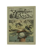 """view Cartoon, """"American Invention for Blowing Up Bosses"""", 1881 digital asset number 1"""