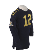 view United States Naval Academy Roger Staubach Jersey digital asset number 1