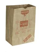 "view ""Vote"" Shopping Bag, 1976 digital asset number 1"