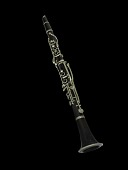 view Albert System Clarinet, used by Barney Bigard digital asset number 1