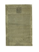 "view ""The Virginia Gazette"" Newspaper digital asset number 1"