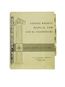 view Voting Rights Manual, 1966 digital asset number 1