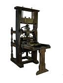 "view ""Franklin"" common press digital asset: Franklin press"