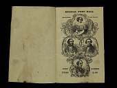 view Jenny Lind Concert Program, November 29, 1850 digital asset number 1