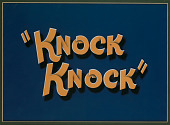 view Title card from animated short <i>Knock Knock</i> digital asset number 1