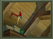 view Animation cel from Woody Woodpecker cartoon <i>Knock Knock</i> digital asset number 1