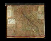 view Chaumont GHQ Battle Map digital asset: Battle map used by General Pershing at Chaumont Headquarters in France during WWI