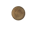 view Commemorative Clothing Button, George Washington, 1789 digital asset number 1