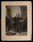 view Shakespeare in His Study digital asset number 1