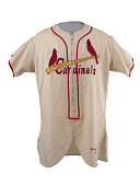view St. Louis Cardinals Jersey, worn by Stan Musial digital asset number 1