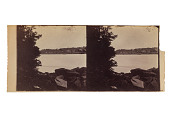 view Landscape with trees, river and box digital asset number 1