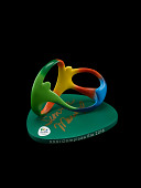 view Presentation sculpture given to Simone Manuel during the 2016 Rio Olympic Games digital asset: Presentation sculpture given to Simone Manuel during the 2016 Rio Olympic Games
