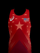 view Wrestling singlet worn by Kyle Snyder during the 2016 Rio Olympic Games digital asset number 1