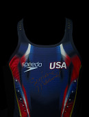 view Swimsuit worn by Simone Manuel during the 2016 Rio Olympic Games digital asset number 1