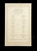 view Menu, 1976 Gold Rush Zinfandel at Chez Panisse digital asset number 1