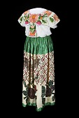 view Mexican-Style Dress, about 1960 digital asset number 1