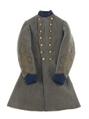 view Confederate Army Colonel Robert W. Harper's Frock Coat digital asset number 1
