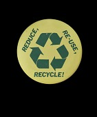 """view """"Reduce, Reuse, Recycle"""" Button digital asset number 1"""