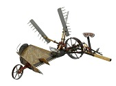 view Whiteley Harvester Patent Model digital asset number 1
