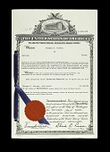 view Inventor's Copy of Letters Patent for Carterfone, US Patent 3100818 digital asset number 1
